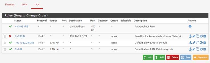 pfSense VM Setup Part 3 – My Malware Analysis Lab Setup